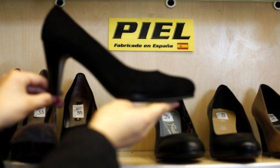 Calzado fabricado en España.