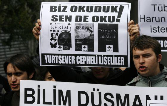 Una manifestación contra la censura en Turquía