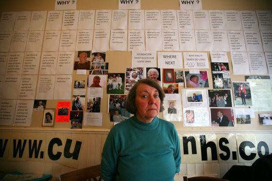 Sonia Burnhill perdió a su marido en el hospital de Staffordshire en 2009.