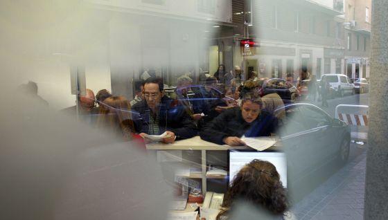 Oficina de coordinación de la dependencia de la Comunidad de Madrid.