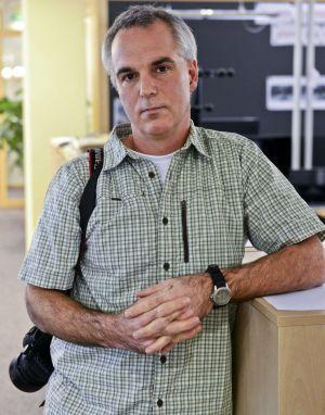 Paul Hansen, en la sede del diario Dagens Nyheter en Estocolmo.