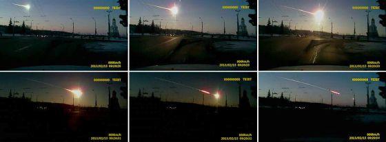 El estallido del meteorito fue detectado desde Alaska, a 6.500 km de distancia