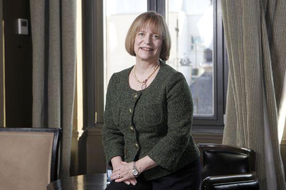 La profesora Linda Bevilacqua, en un hotel de Madrid el pasado viernes.