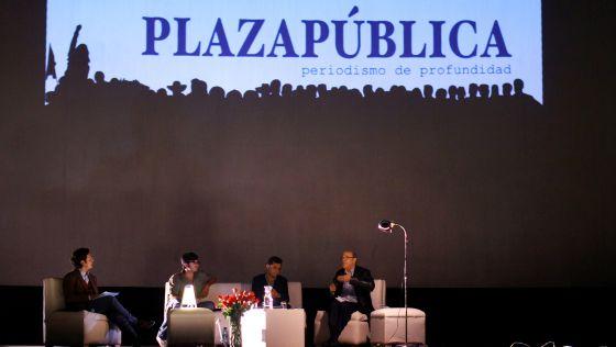 Diálogo de autores por el segundo aniversario de Plaza Pública.