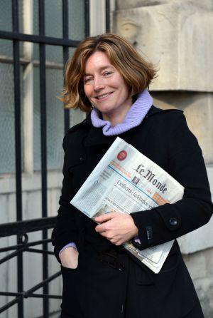 La periodista francesa Natalie Nougayrede, primera directora de Le Monde