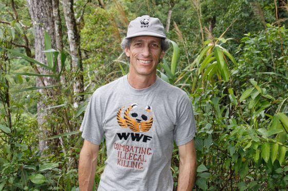 Carlos Drews, responsable del programa de especies de WWF, una de las grandes ONG ecologistas