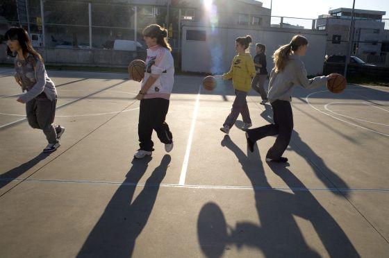 La mayoría de las comunidades autónomas programa dos horas semanales de Educación Física.  Consuelo Bautista