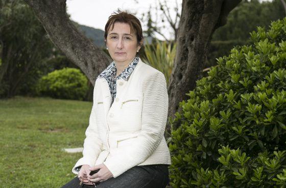 Cristina Montane, afectada por el síndrome de fatiga crónica.