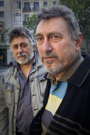 Los hermanos Francisco y Justiniano Villarán.