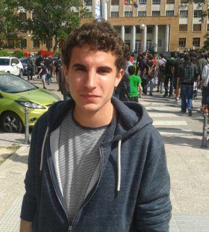 Gonzalo Martín (21 años), alumno de Arquitectura.