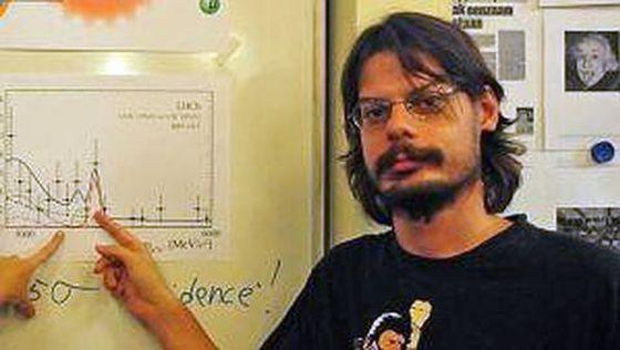 El físico Diego Martínez Santos