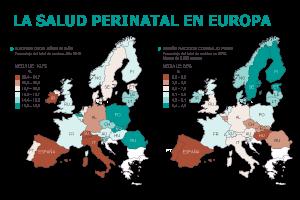 España, a la cabeza en bebés con bajo peso y madres tardías