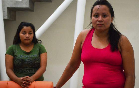 Cristina Quintanilla y Marlene Catalina Ponce fueron a la cárcel tras perder al hijo que esperaban.