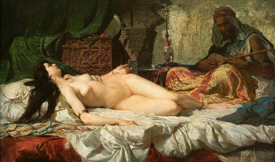 La atracción (sexual) por el norte de África reflejada en un cuadro de Mariano Fortuny.