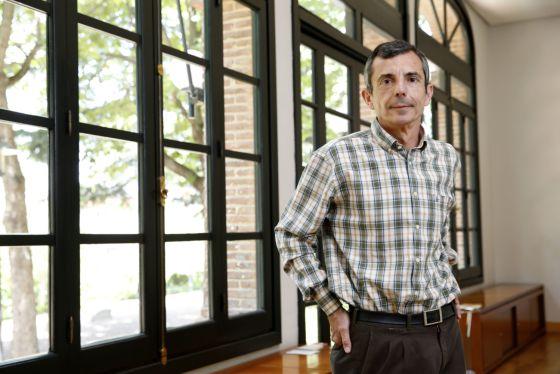 El científico Francisco Guinea en la Residencia de Estudiantes (CSIC), en Madrid.