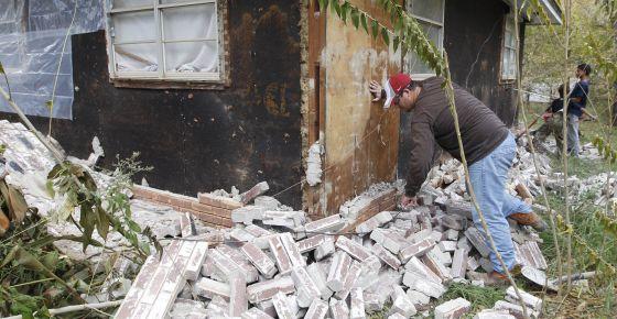 Terremoto en Oklahoma (EE UU) en 2011.
