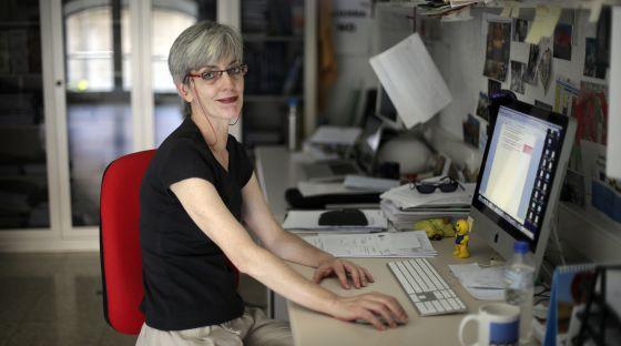 A Annie Machordom, del Museo de Ciencias Naturales (CSIC), por los recortes le han congelado 30.000 euros y le han dejado 5.000 para acabar el año.