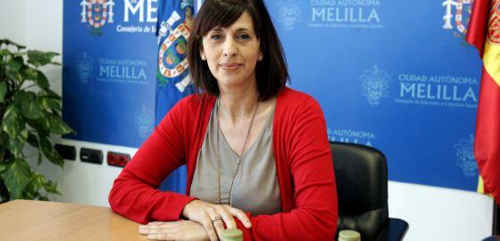 Fadela Mohatar, presidenta del Instituto de las Culturas de Melilla.