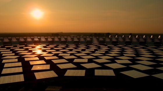 La nueva planta solar termoeléctrica Gemasolar en Fuentes de Andalucía.