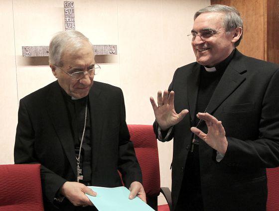 Rouco Varela (izquierda) y Martínez Sistach.