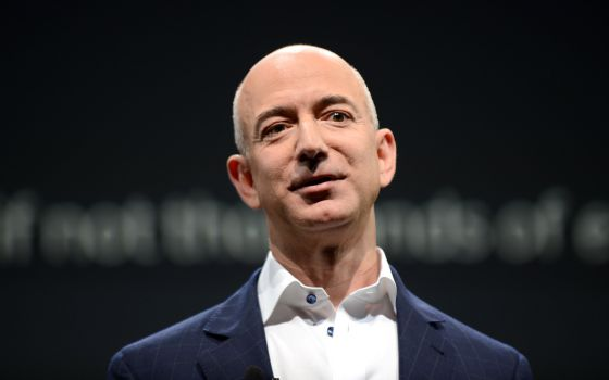 El fundador de Amazon y nuevo dueño de The Washington Post, Jeff Bezos.
