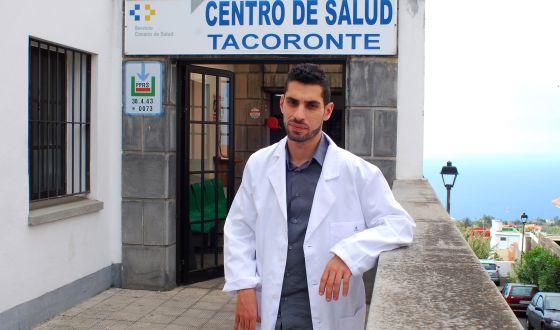 Arturo Pedrero tuvo que dejar de ejercer por los problemas en un brazo.