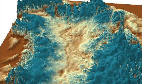 El gran cañón de Groenlandia