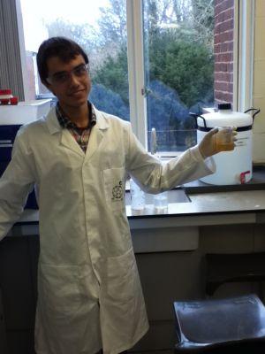 Álex Blasco estudia Quimica en Sussex,