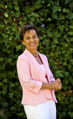 """Christiana Figueres: """"Europa tiene que invertir más en energía verde""""."""