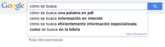 Imagen de una búsqueda en Google.