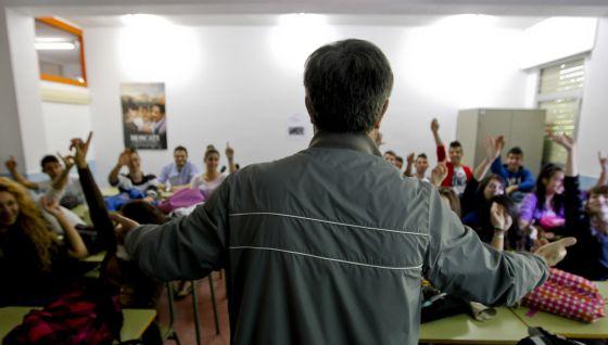 Clase de Religión en San Fernando de Henares (Madrid).