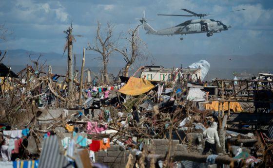 13 millones de personas se han visto afectadas por el tifón Haiyan, según estimaciones de Naciones Unidas.