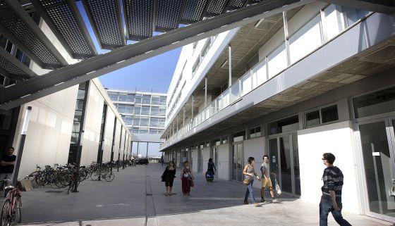 Campus de la Universidad Politecnica de Valencia.