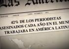 En algunos países de América Latina no hay libertad de prensa