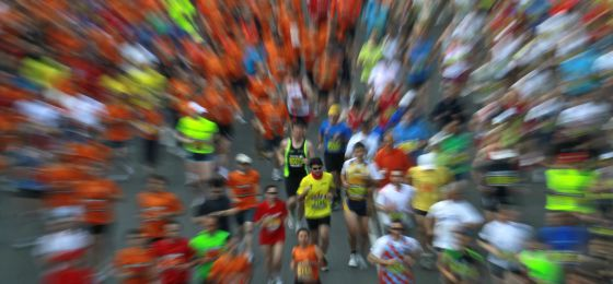 Imagen de la XXXV Maratón de Madrid, celebrada en 2011.