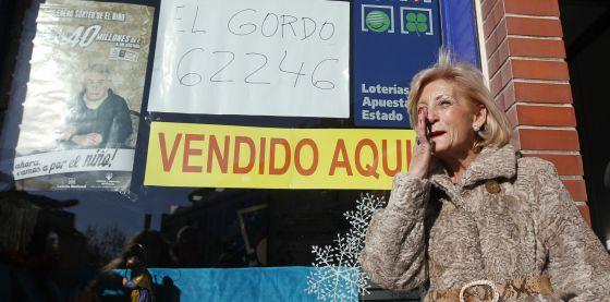 Administración número 8 de Leganés, donde se ha vendido el Gordo.