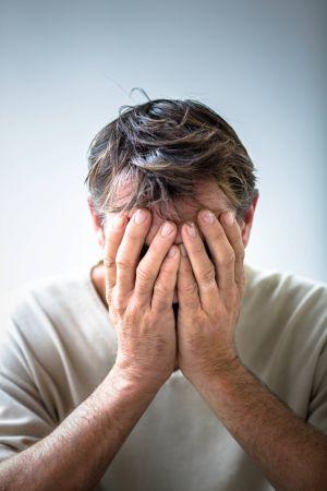 La ansiedad y la depresión de los hombres ha crecido con respecto a antes de la crisis, según un estudio reciente.