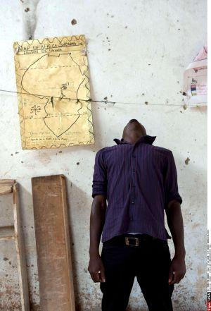 Retrato de un joven homosexual ugandés.
