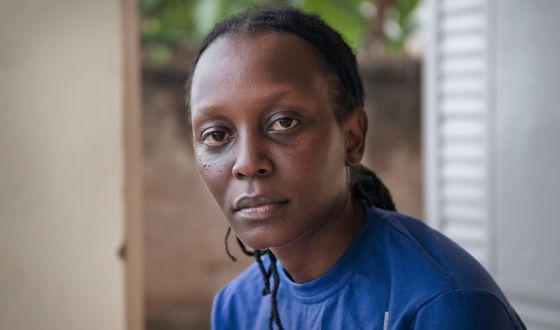 Kasha Jacqueline Nabagesera, activista lesbiana de Uganda.