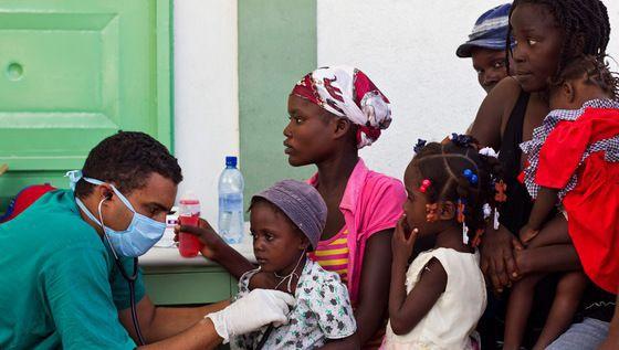 La batalla legal contra la ONU por una epidemia de cólera
