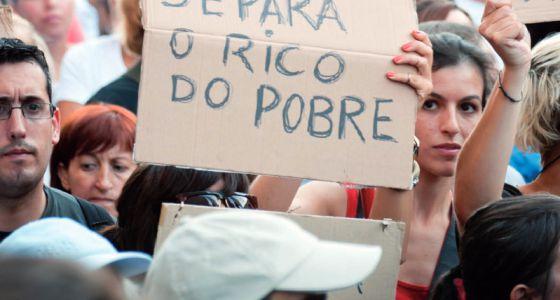 Imagen del informe de Cáritas Europa sobre el impacto de la crisis.