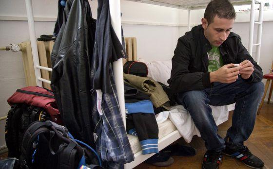 Uno de los jóvenes españoles que se quedó atrapado en Alemania con el programa de FP dual.