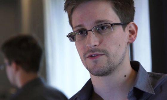 Edward Snowden durante una entrevista en junio del 2013.