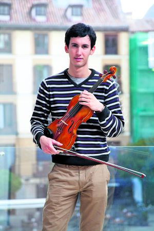 Abel Rodríguez, de Cuba, que estudia en la Escuela Superior de Música Reina Sofía, en Madrid.