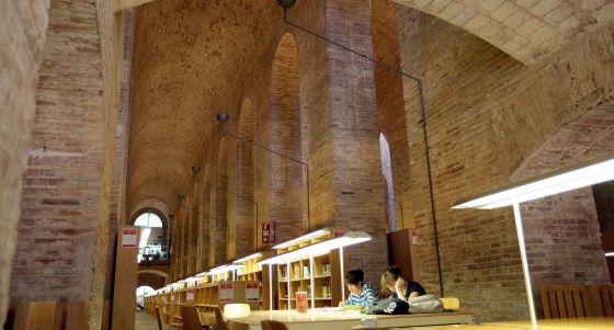 El primer puesto español lo ocupa la Universidad Pompeu Fabra, en el 166. En la imagen, su biblioteca.