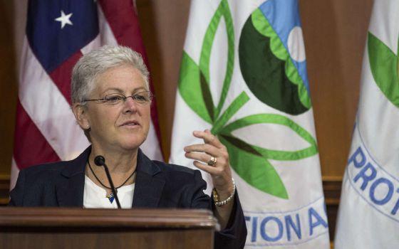 La directora de la Agencia de Protección Ambiental, Gina McCarthy.