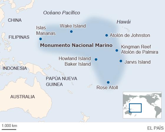 Obama anuncia que creará la mayor zona marina protegida del mundo