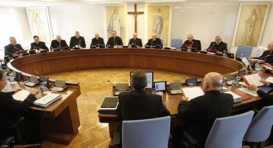 La Conferencia Episcopal Española (CEE), el 25 de junio de 2014.