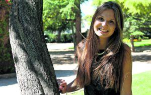 Teresa Usón, la nota más alta en Aragón.
