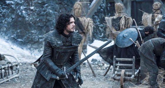 El actor Kit Harrington, en una escena de la cuarta temporada de la serie 'Juego de tronos'.